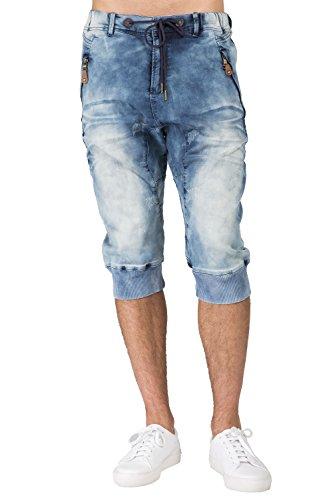 Level 7 Men's Medium Clouded Blue Premium Knit Denim 18