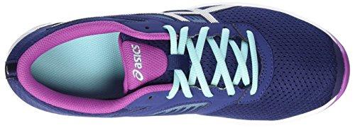 Asics Fuzor, Zapatillas de Gimnasia para Mujer Azul (Indigo Blue/silver/orchid)