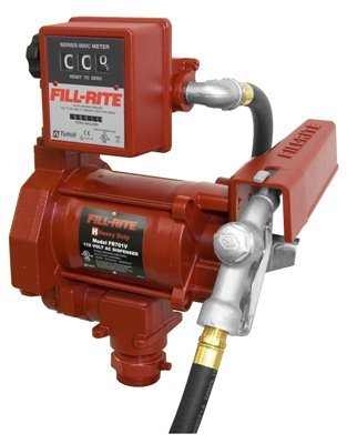 Fill-Rite FR701V 115v AC Pump, 15 GPM, gallon meter, manual nozzle by Fill-Rite (Image #1)'