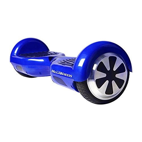 Megawheels TW01 6.5' Hoverboard UL2272 Certified Two Wheels Self Balancing Electric Scooter (Blue)
