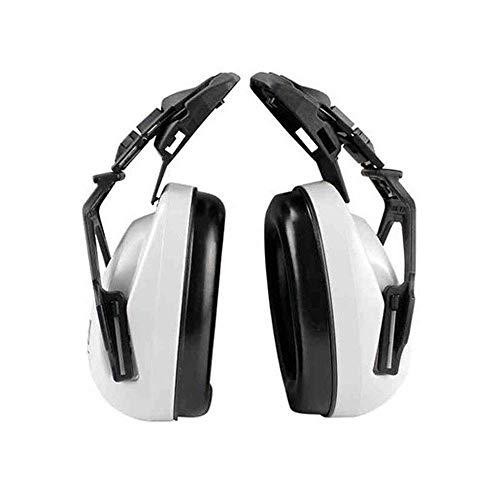 FS Head-mounted Noise-proof Earmuffs,Noise-proof Earmuffs Special Earmuffs For Helmet-type Helmet Construction Noise Reduction 25 Decibels (Color : Earmuffs) by FSHEZ (Image #4)
