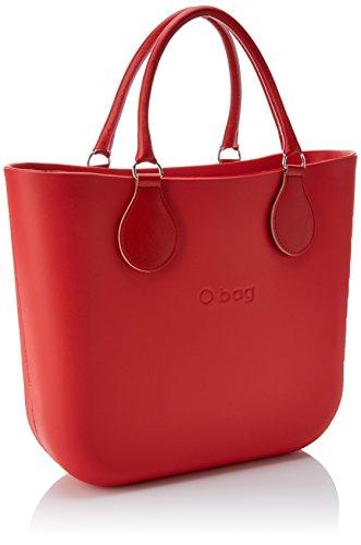 x H x a Mano 11x31x40 cm City OBAG Multicolore Borsa W Rosso Donna Classic L qtUzxPwv