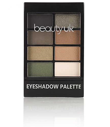 Beauty UK Professional Eyeshadow Palette no.5 - Green with E