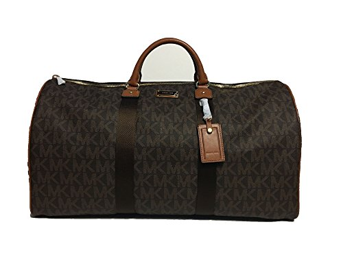 Michael Kors Travel Duffel Bag Brown (35T6GTFU4B) by Michael Kors