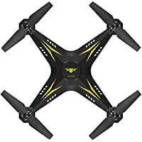 Wifi FPV Drone, COOL99 2.4G HD Camera FPV WIFI Drone Quadcopter UAV Remote Control Helicopter Real-time (A, Yellow)