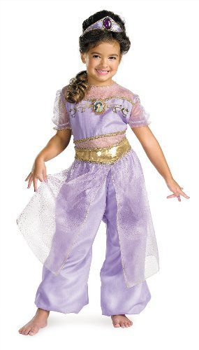 Jasmine Deluxe Costume - Small (4-6x) - coolthings.us