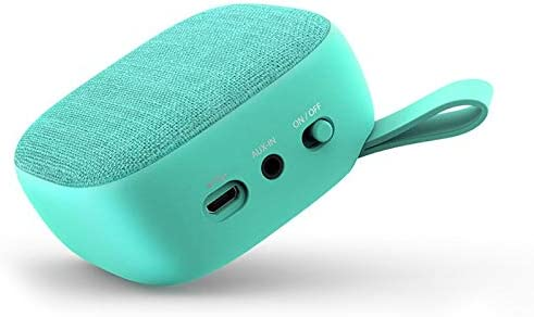 XJadeTech SoundBoom Mini Portable Bluetooh Speaker Aqua Green