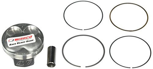 (Wiseco 4927M07700 77.00mm 14:1 Compression 250cc Motorcycle Piston Kit)