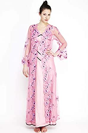 Lea Pink Mixed Casual Dress For Women