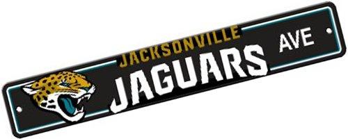 Fremont Die NFL Jacksonville Jaguars Plastic Street Sign