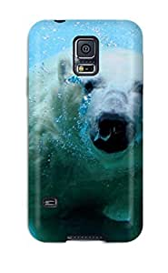 High Quality SIWuvel2854MCuEX Bear Animal Tpu Case For Galaxy S5