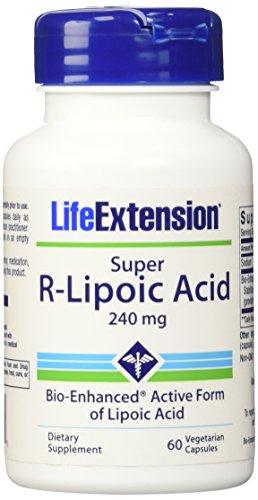 - Life Extension Super R-Lipoic Acid 240 mg, 60 vegetarian capsules (Multi-Pack)