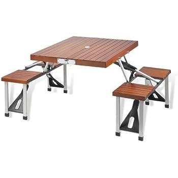 Picnic at Ascot Portable Picnic Table Set  sc 1 st  Amazon.com & Amazon.com: Picnic at Ascot Portable Picnic Table Set: Kitchen u0026 Dining