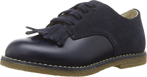 Marty Shoes (Footmates Child Marty Laceup Kiltie Oxford (Toddler/Little Kid) Navy)