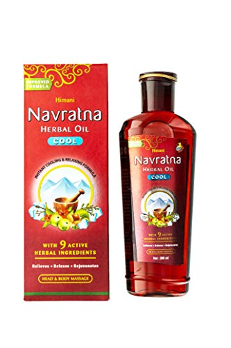 Himani Navratna Oil With 9 Natural Ayurvedic Herbs - 200 ml ()