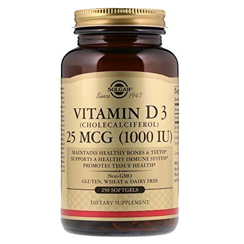 Solgar, Vitamin D3 (Cholecalciferol) 1000iu, 250 Softgels