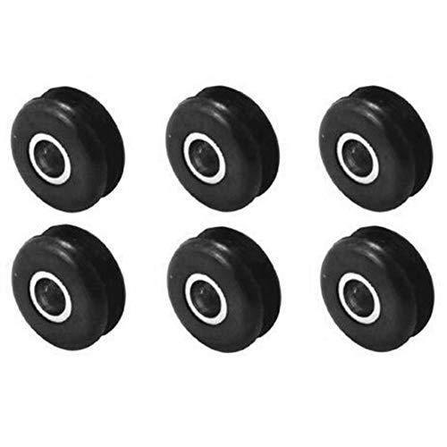 Body Rubber Grommets Mount (TOOGOO Gas Tank Mounts Harley Softail Gas Tank Mounts Rubber Grommets (6-Pack))