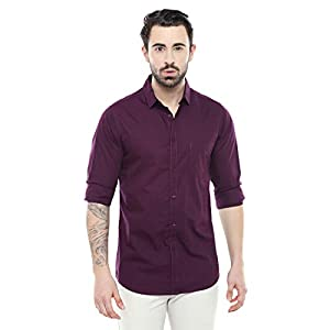 Dennis Lingo Men's Cotton Casual Shirt