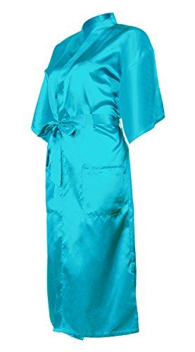 Donna Puro Da Robe Brillante Di Colore Honoursport Kimono Blu zBwPYqztE