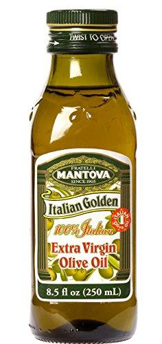 Mantova Italian Golden Extra Virgin Olive Oil, 13 Pound (Pack of 12)