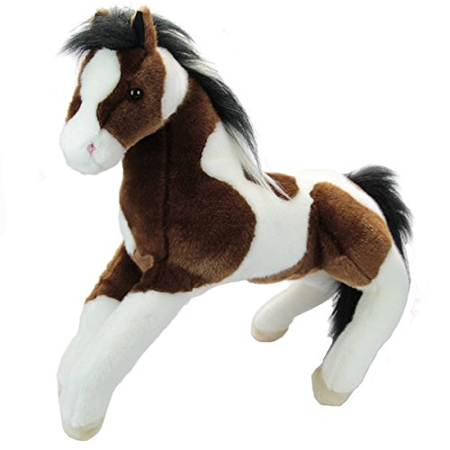36'' Plush Sage Super Pinto Horse (Sage Pinto Horse)