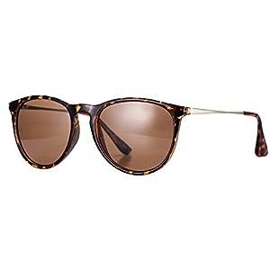 Pro Acme PA4171 Women's Erika Polarized Sunglasses,54mm (Polarized Brown Lens)