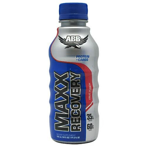 ABB Maxx Recovery Fruit Punch 24 - 18 fl oz (1 pt 2 fl oz ) 532 ml Bottles by ABB