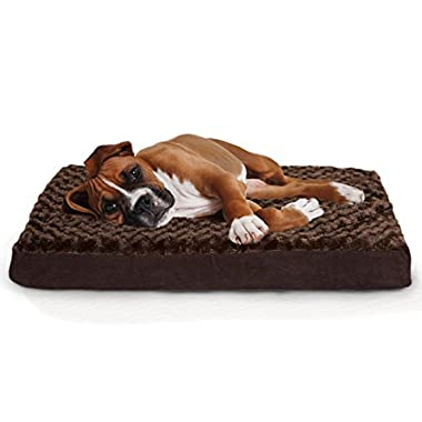 Furhaven Pet Orthopedic Pet Mattress, Large, Chocolate