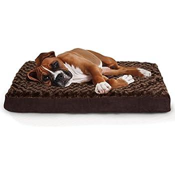 Amazon.com : Furhaven Orthopedic Mattress Pet Bed, Large ...