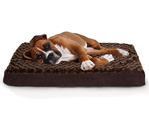 Furhaven Orthopedic Mattress Pet Bed, Large,...