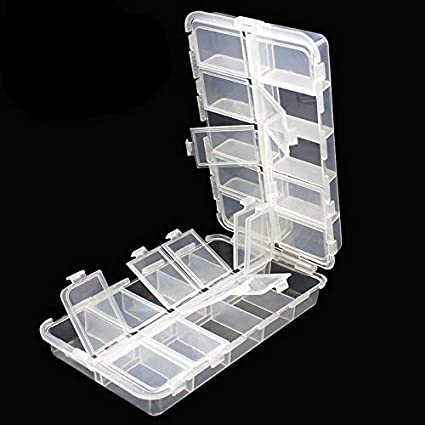 Tackle Boxes Plastic Box Plastic Storage Organizer Box With Removable Dividers