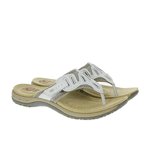 Earth Spirit Palm Bay Sandalen Weiß