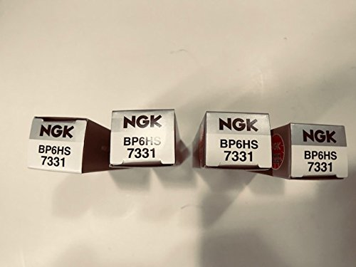 Amazon.com: Four NGK Replacement Single Electrode Spark Plugs Compatible with Classic Boxer BMW R Airhead Motorcycle BP6HS: Automotive