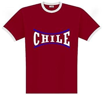 World of Football Camiseta de talla Chile línea