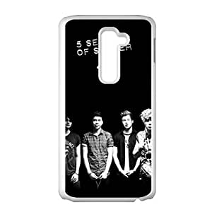 The 5 Seconds Of Summer Band Cell Phone Case for LG G2
