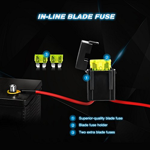 Wiring Harness Company In Uae : Nilight led light bar wiring harness kit v on off switch