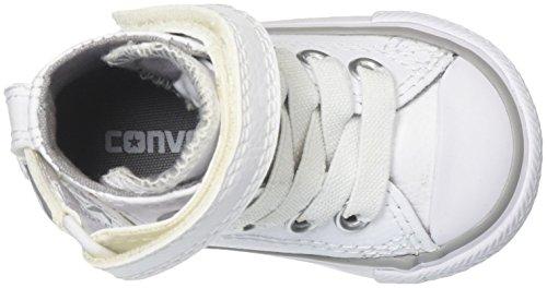 Converse Unisex-Kinder CT As SP Hi YTH Blk Mono Hohe Sneaker Weiß/Weiß/Weiß