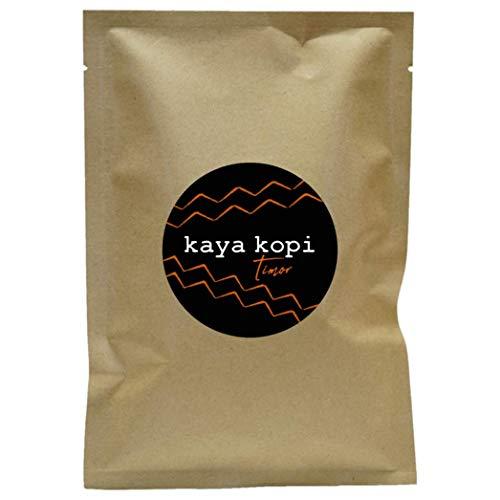Premium Kaya Kopi Timor From Timor-Leste Islands - Hybrid Robusta Arabica Roasted Ground Coffee Beans, 12 Ounce