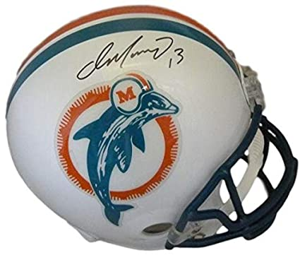 size 40 f5d71 947d5 Amazon.com: Dan Marino Signed Miami Dolphins full size ...