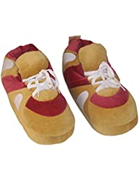 Wine Red and Brown sneaker slipper