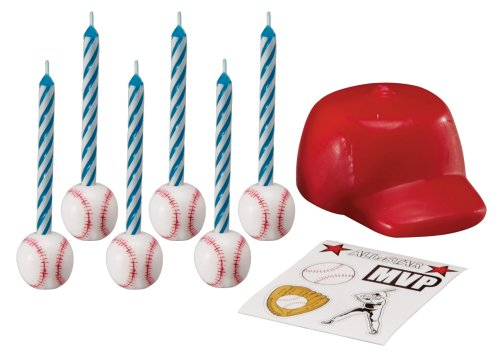 - Wilton Baseball Topper Set With Decals