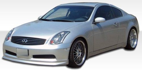 2003-2007 Infiniti G35 2DR D-Spec Kit - 4 Piece - Includes D-Spec Front Lip Under Spoiler Air Dam (105662) Wings Side Skirts Rocker Panels (100463) Wings Rear Lip Under Spoiler Air Dam (100462)