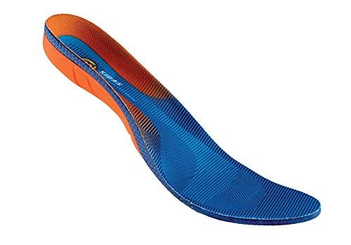 Sidas suela Cushioning Gel 3d, forma 3d anatómico azul