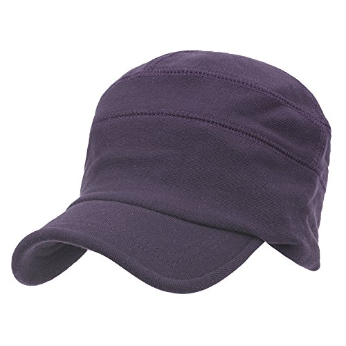 Soft Flex Cap Color Slouchy Casual Hat Purple Fit Work Cotton Solid ililily gwIqUfU
