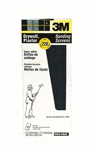 3M 99436 Drywall Sanding Screens Pro-Pak, 220-Grit, 10-Pack (Dust Free Drywall Sander)