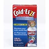Cold-eeze Cold Remedy Oral Spray .76fl Oz (Pack of 2 )