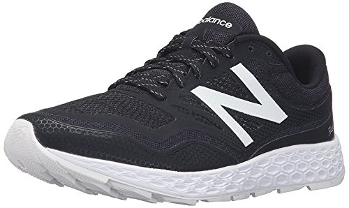 New Balance MenS Fresh Foam Gobi Neutral Trail Running Shoe, Negro/Blanco, 40 EU/6.5 UK