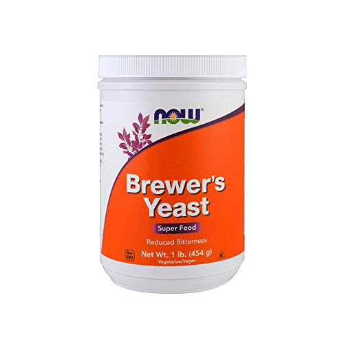Yeast Brewers Dry (NOW Brewer's Yeast Debittered, 1-Pound)