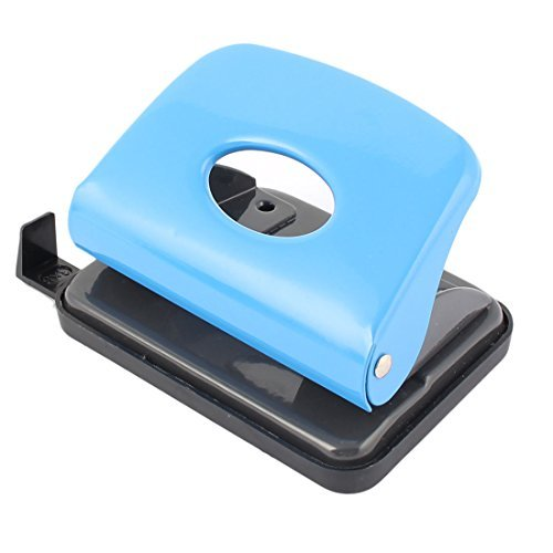 DealMux School Office 2 Hole File Paper Punch Puncher Stationery 6mm Hole Dia 16 Sheet Capacity by DealMux (Image #3)