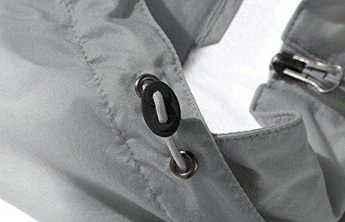 Chaqueta Secado La De Aire Piel De De Fina La Hombres Grey La Cazadora UPF30 Los Libre Contra Al 6wO8qHAfx